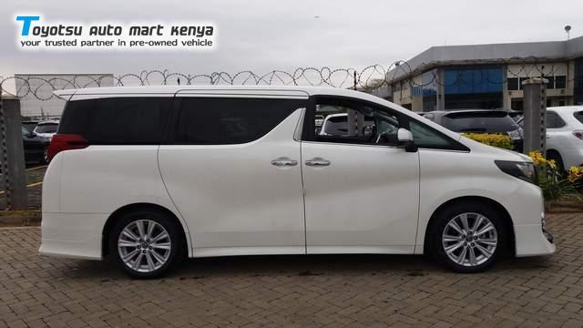 2017 Toyota Alphard Used Car For Sale Toyotsu Auto Mart Kenya