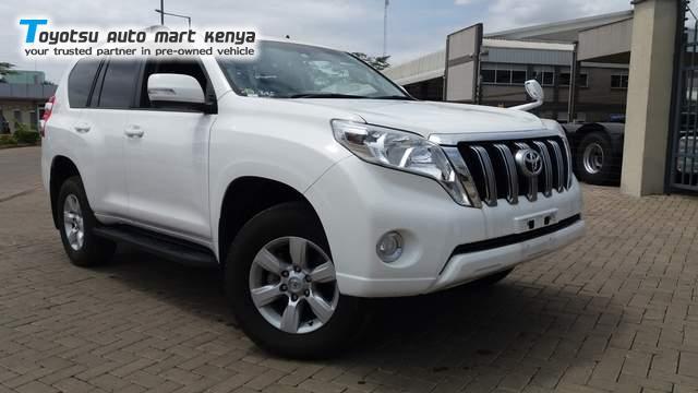 2015 Toyota Prado Used Car For Sale Toyotsu Auto Mart Kenya