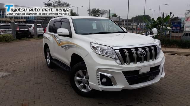 2012 Toyota Prado Used Car For Sale Toyotsu Auto Mart Kenya