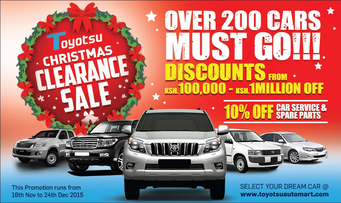 come and have the toyotsu christmas experience with us